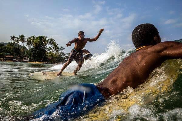 SIERRA LEONE: Surfing and Community Development