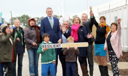 Who are the 6 winners of the 2018 Resilient Communities Fund