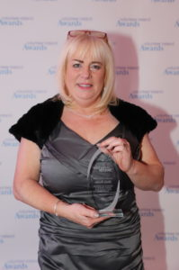 Social Work and Social Inclusion winner Sheila Busher