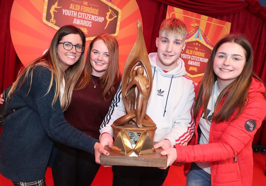 Who won top prize at the 2019 Foróige Youth Citizenship Awards?