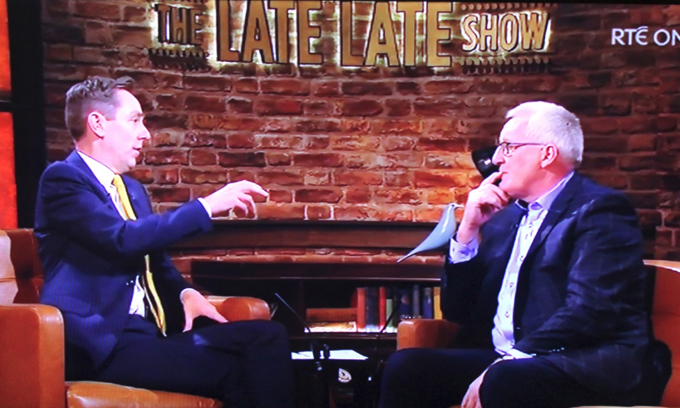 Pat Spillane on the Late Late: a one-sided one-man show