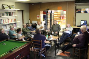 First meeting of Pullough Men's Shed