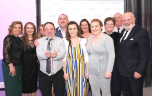 Pullough Community Action Group at the Volunteer Ireland Awards
