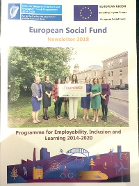 ESF Newsletter cover