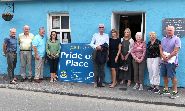 The Maharees Conservation Association team pictured outside their building