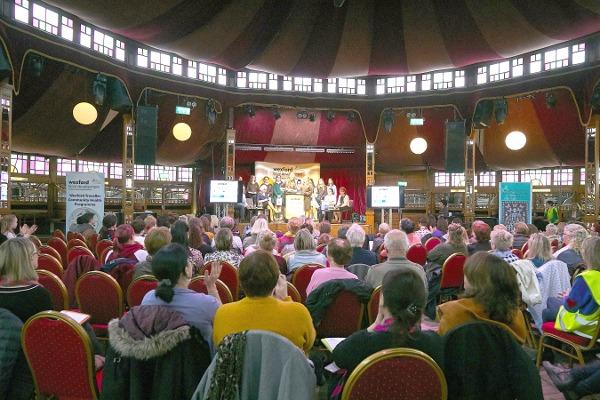 The crowd at Wexford's Spiegeltent