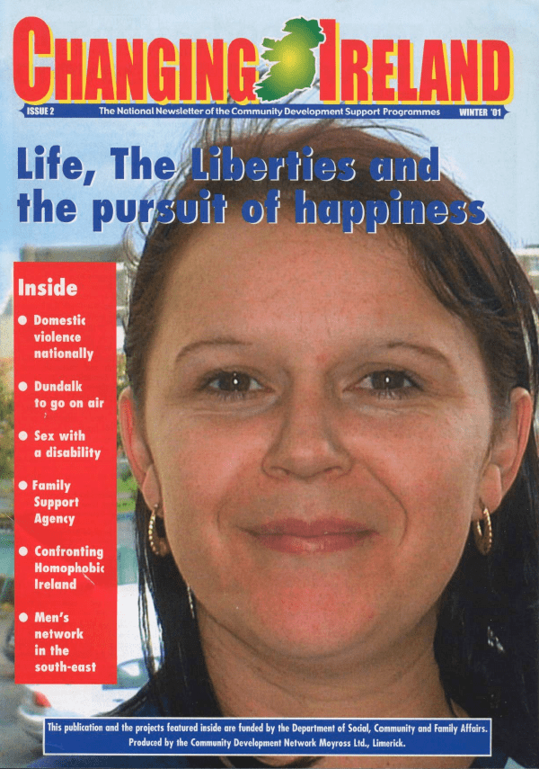 Magazine front cover from 2001.