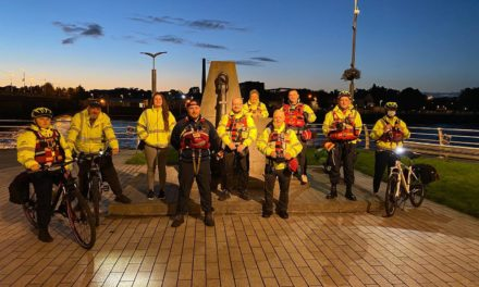 Volunteers patrol with Limerick Treaty Suicide Prevention