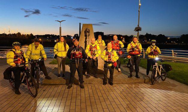 Volunteers patrol with Limerick Treaty Suicide Prevention