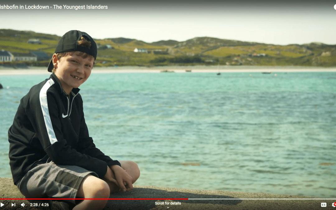 Islanders film life on one of Ireland's few Covid-free spots