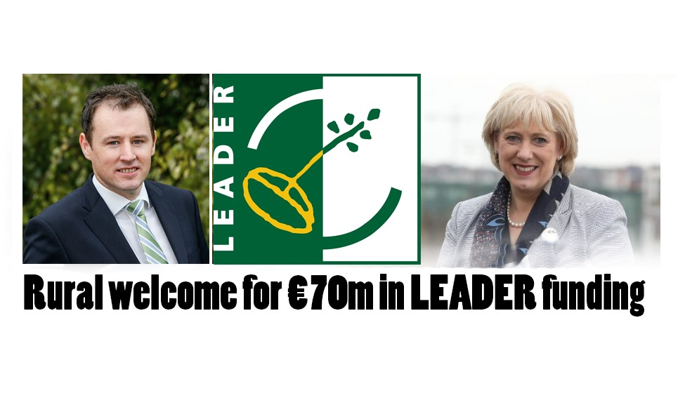€70m in LEADER funds for 2021-'22 – announced today