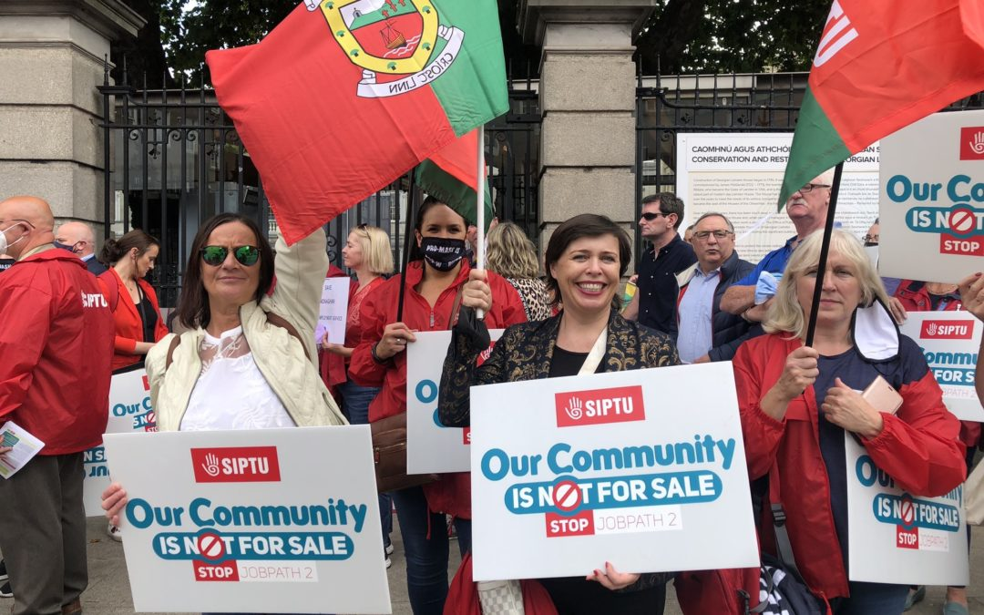 """""""Our communities are not for sale"""""""